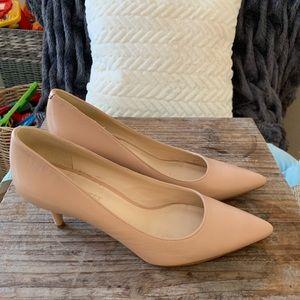 Nude Nine West heels